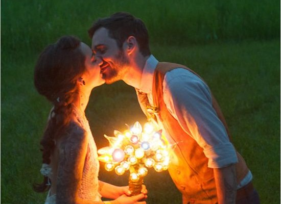 bouquet lumineux