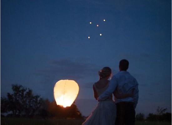 couple lanternes