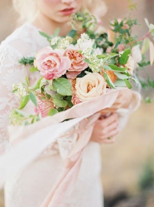 bouquet de la mariee mariage parisien