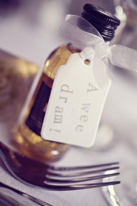 cadeau convives mariage ecossais