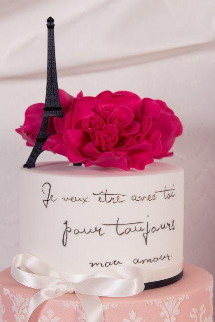 cake topper mariage parisien wedding cake