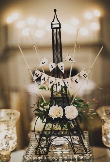 centre de table mariage paris
