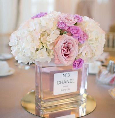 centre de table mariage parisien