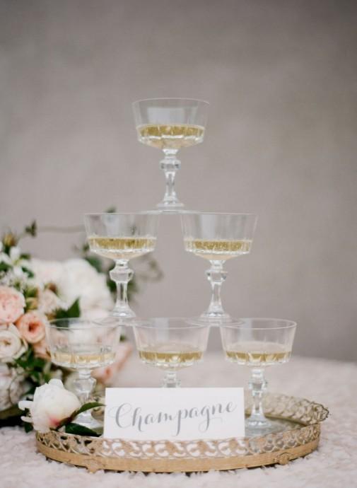 champage mariage parisien