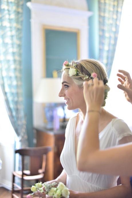 coiffure aurelie mariage romantique et chic