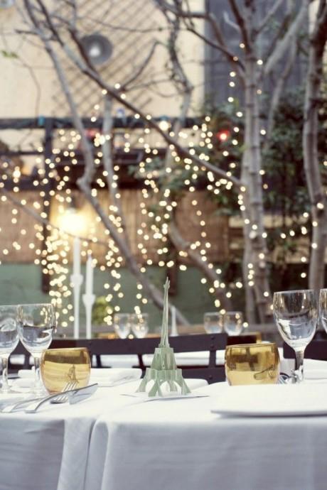 decoration de table mariage parisien 2