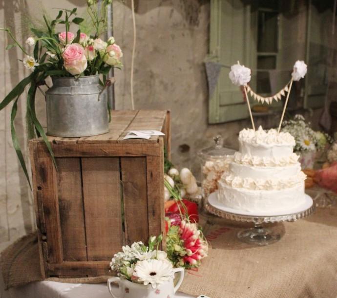decoration mariage angelique et michael champetre
