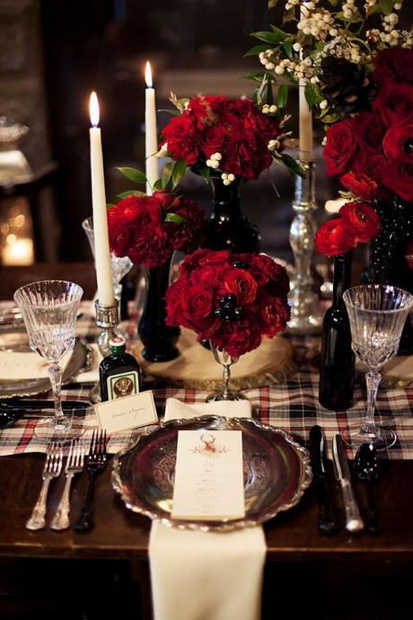 decoration mariage ecossais