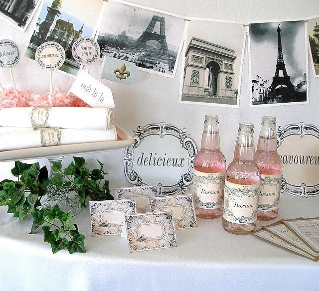 decorations mariage parisien