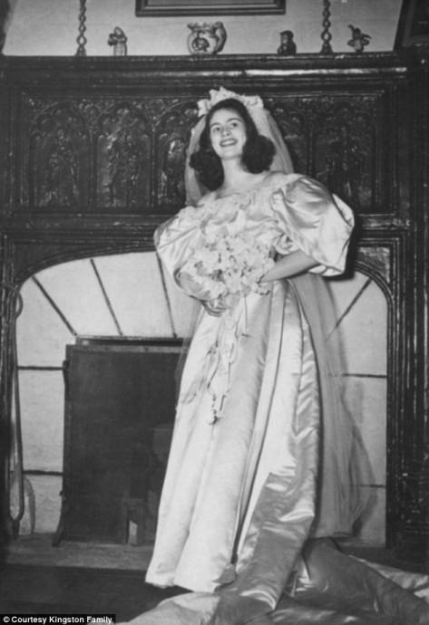 Jane Woodruff mariée en 1946