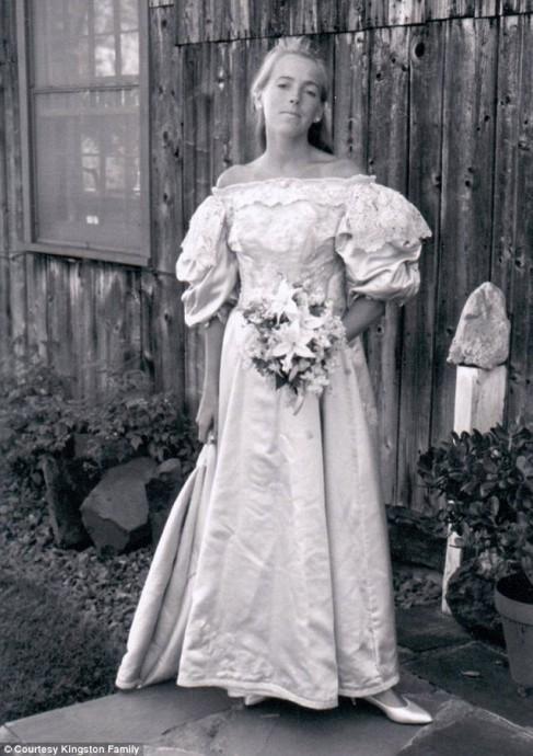 Ann Ogden, mariée en 1991