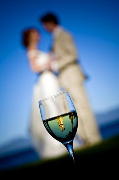 mariés verre