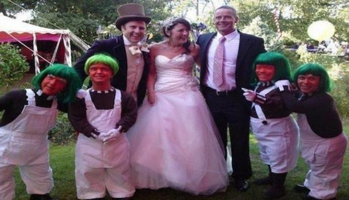 mariage et nains