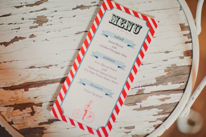 menu cirque