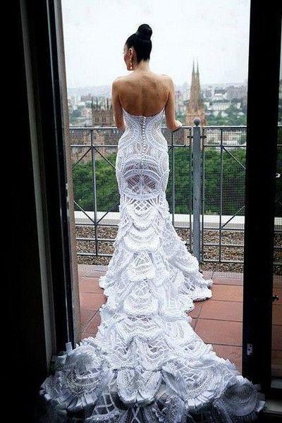 oseriez vous cette robe de mariee