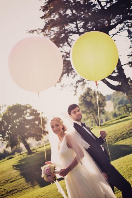 photo de mariage aurelie et fred romantique et chic