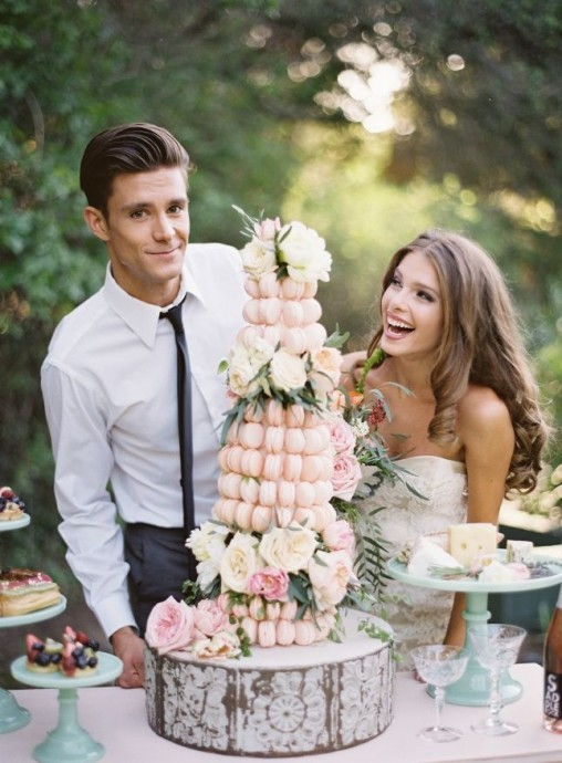 piece montee macaron maries mariage parisien
