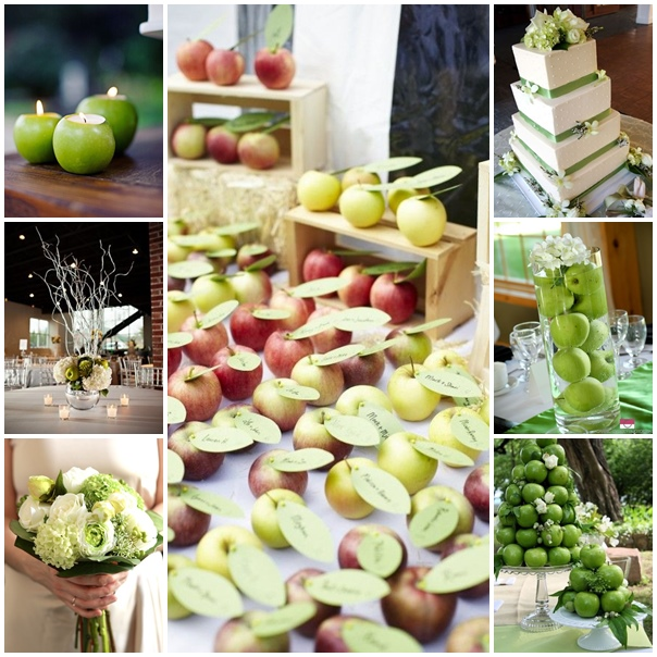 planche mariage pomme granny