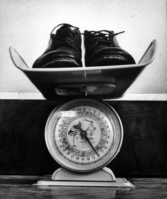 poids des chaussures