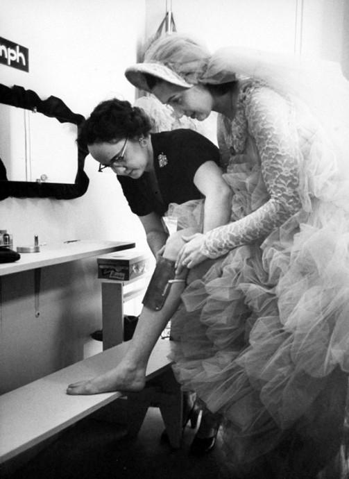 preparation de mariee