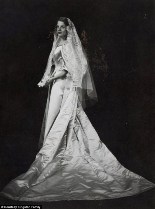Sara Seiler, mariée en 1960