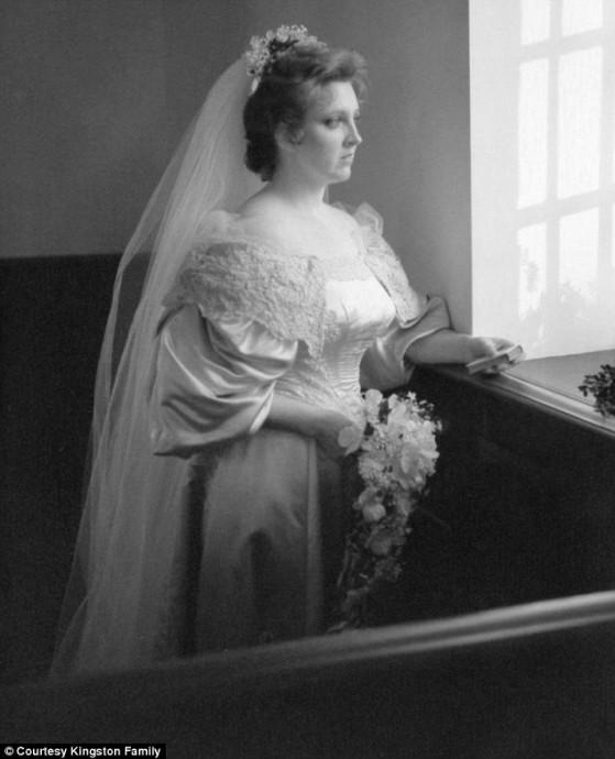 Janet Kearns, mariée en 1982