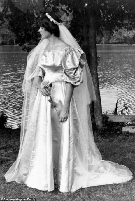 Leslie Woodruff Kingston, mariée en 1977