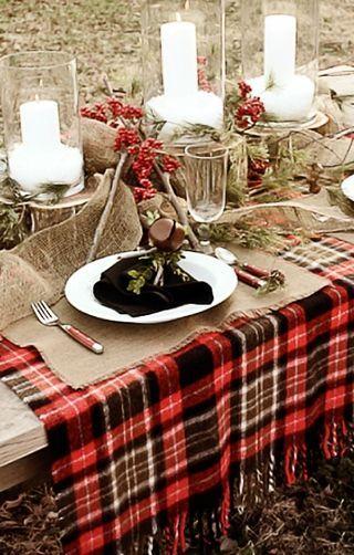 table mariage ecossais 3