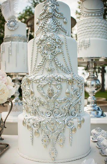 un wedding cake de perle