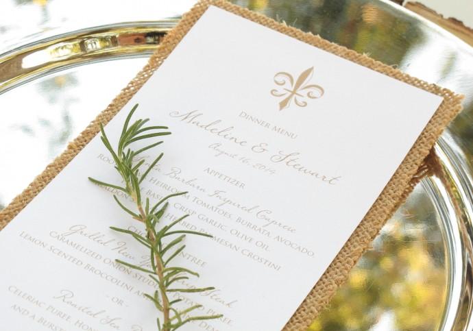 valider votre menu-mariage