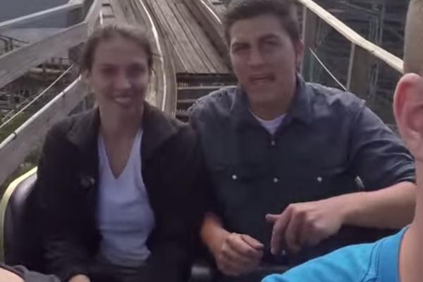 video demande en mariage a sensation forte