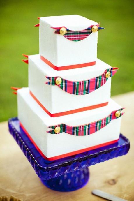 wedding cake mariage ecossais