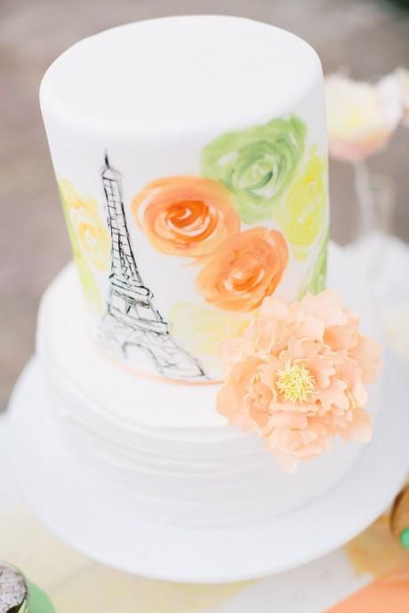 wedding cake mariage parisien 3