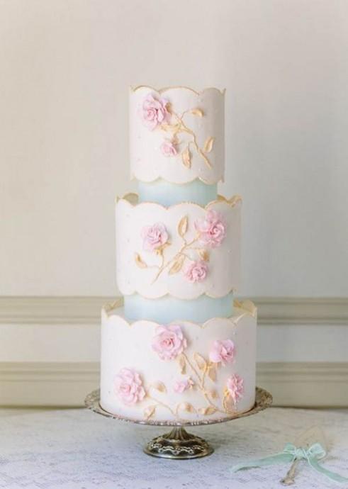 wedding cake mariage parisien