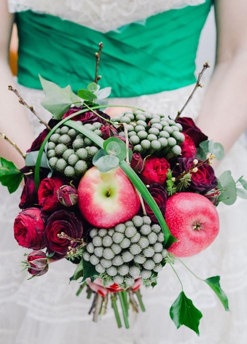 bouquet pommes