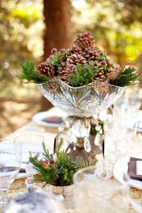 Decoration De Table Avec Pain Et Fleurs