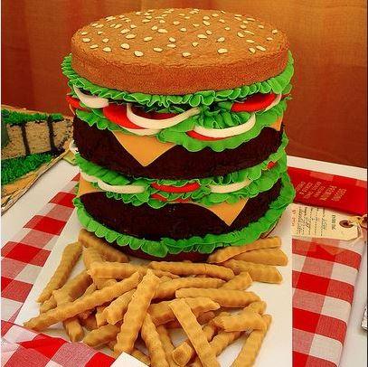 hamburgercake