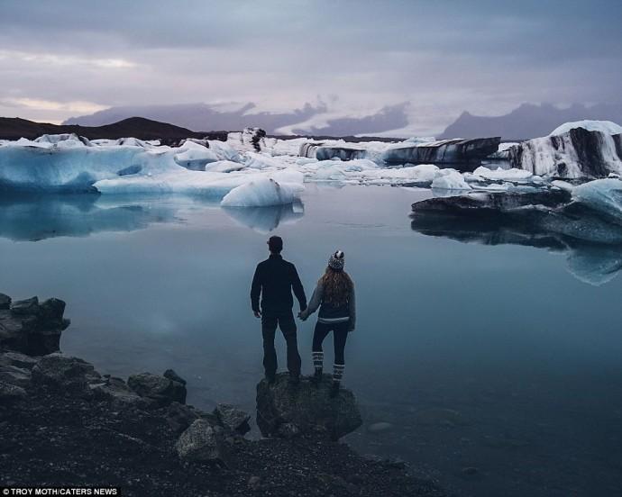 lagon glace islande