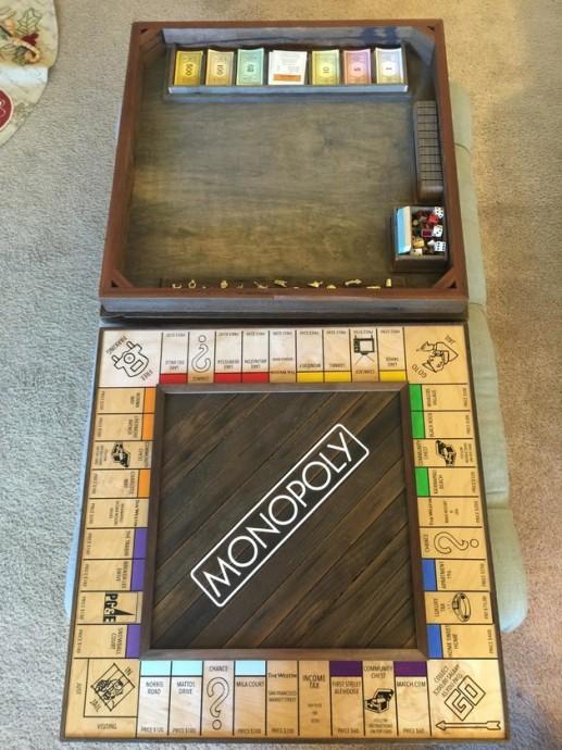Justin Lebon a travaillé sur la version sur-mesure de ce Monopoly depuis quatre semaines. Il a tenu à retracer sa love story avec Michal au fil des étapes du jeu.
