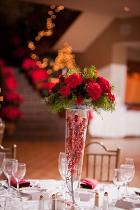 decorations de noel pour un mariage