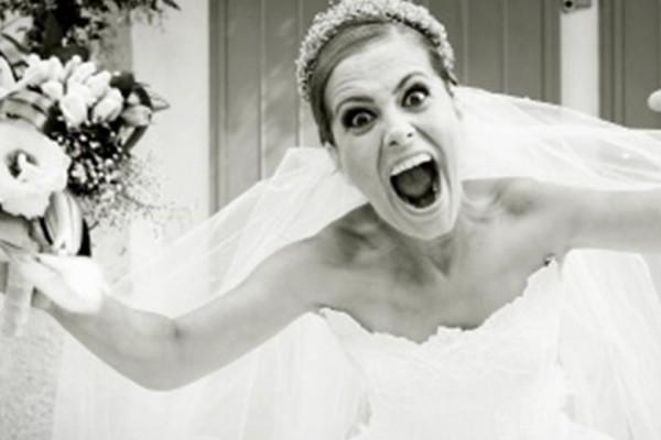 la mariee quand elle en a marre