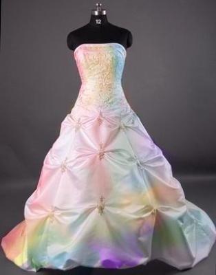 la robe de mariee arc en ciel