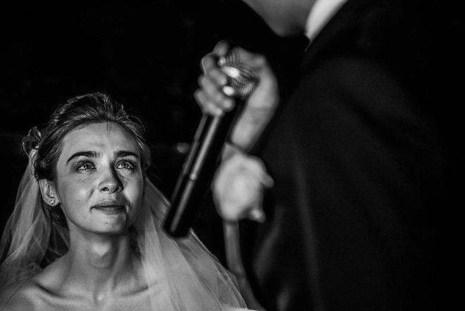 les larmes de la mariee