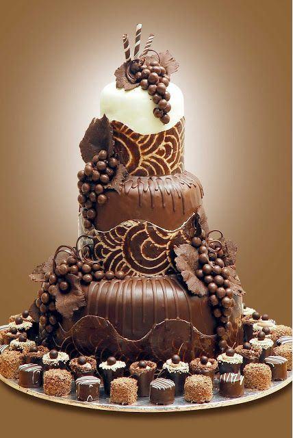 Photo Wedding Cake Mariage
