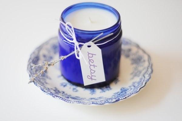 bougies parfumées-cadeau-mariage