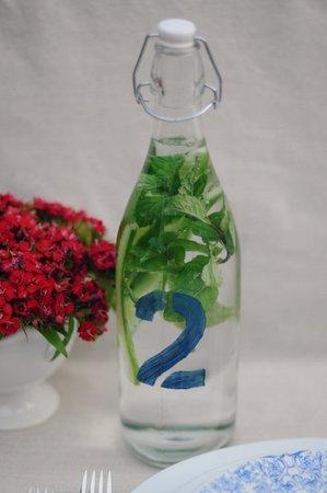 detox water aux mille et une saveurs pour votre mariage estival. Black Bedroom Furniture Sets. Home Design Ideas