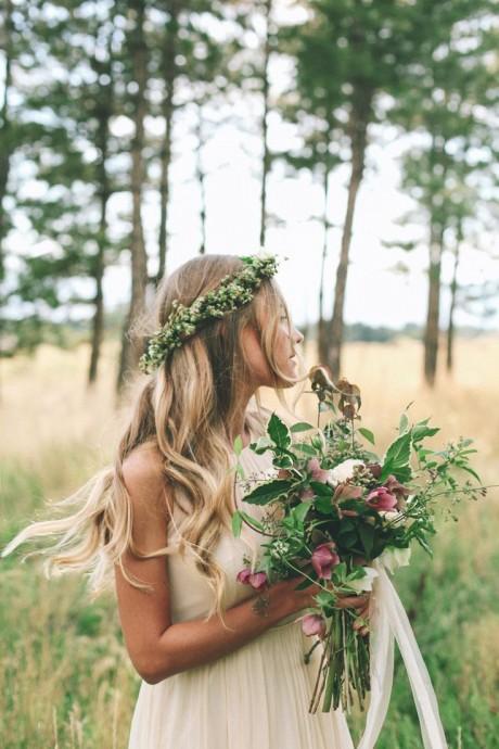 coiffure pour une mariee au naturel (2)