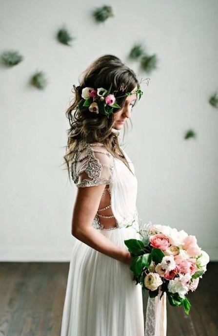coiffure pour une mariee au naturel (5)