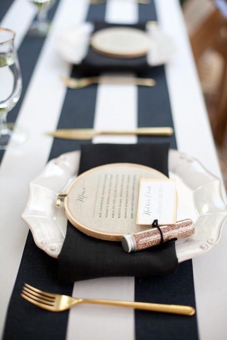 decoration de mariage couleur metallique (10)