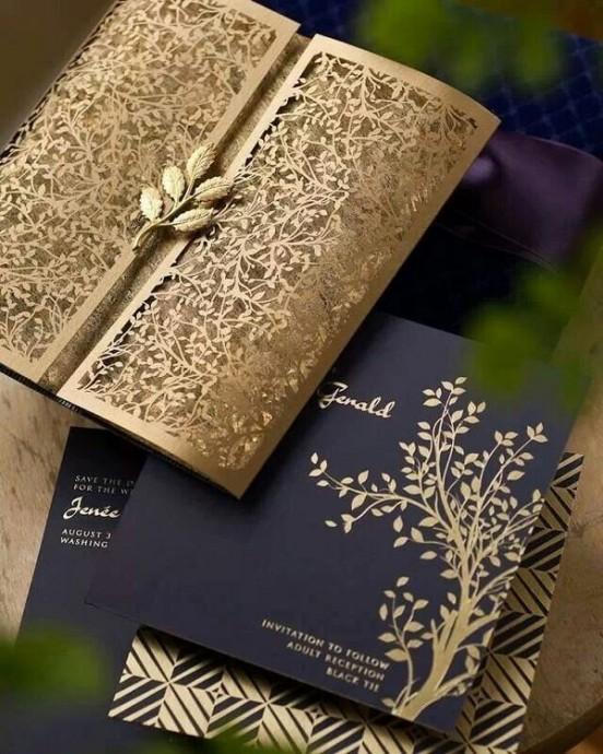 decoration de mariage couleur metallique (4)